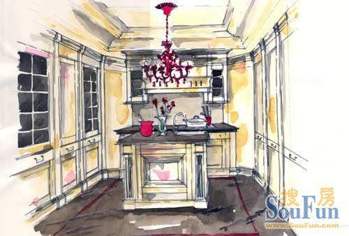 室内建筑手稿图片 婚纱礼服手稿素描图片 纹身手稿图案大