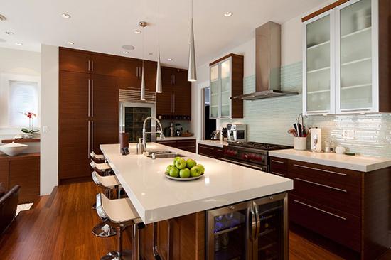极美的厨房装修效果图 从此爱上下厨房