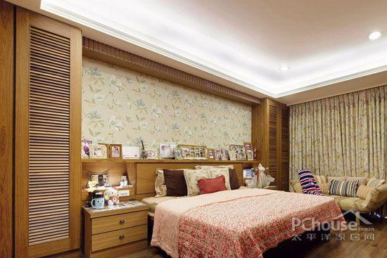 欧式田园风格卧室装修效果图赏